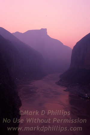 China: Fengjie, Qutang Gorge, Three Gorges Dam